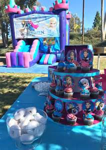 basketball centerpieces frozen birthday party ideas pink purple blue and a
