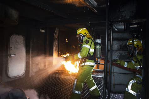 firefighting skills shared navy daily
