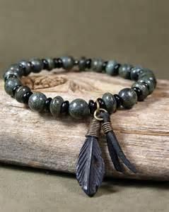 diy drop earrings bracelet for men mens beaded bracelet green bracelet