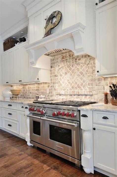 brick backsplashes for kitchens 30 awesome kitchen backsplash ideas for your home 2017 4881
