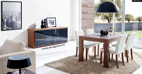 comedores muebles peru modernos juegos de comedor hogar