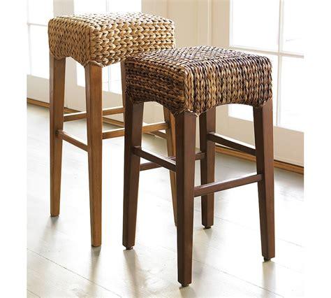 unique seagrass counter stool homesfeed