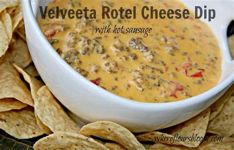 how to make rotel dip velveeta rotel cheese dip i double the recipe and use 1lb mild sausage and 1lb ground beef