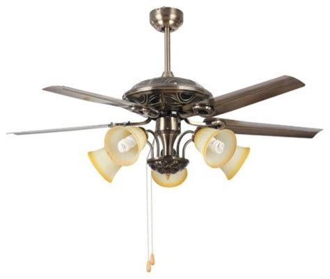 bronze fan pull chain vintage bronze ceiling fan light 50 quot with pull chain