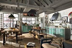 Industrial Style Shop : vintage and industrial style kitchens by marchi cucine adorable home ~ Frokenaadalensverden.com Haus und Dekorationen