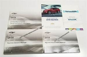 2018 Chevrolet Equinox Navigation Owners Manual Guide