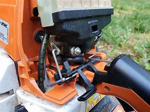 Malfunctioning Chainsaw Cutoff Switch
