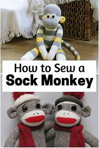 How To Sew A Sock Monkey
