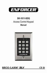 Sk-1011-sdq Access Control Keypad