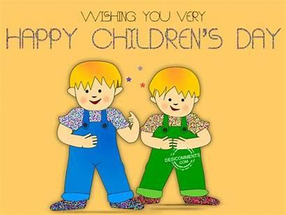 Animated Happy Children Childrens Very Wishing 3d
