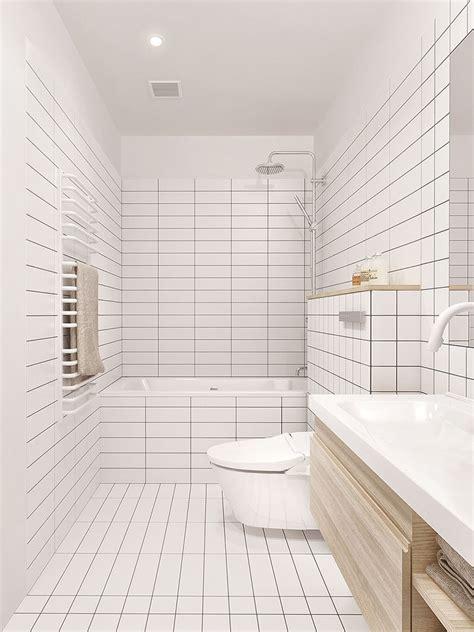 Modern White Bathroom Floor Tile by 8 Exles Of Tile Flooring With Geometric Patterns