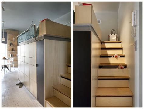 22 Square Meter Apartment With Ingenious Storage Solutions