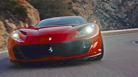 ferrari  superfast  features driving design