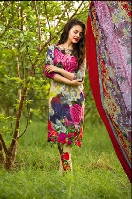 Set Asifa asifa nabeel viscose linen 2018 shopping in pakistan