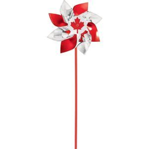 Canadian Maple Leaf Pinwheel 7 12in X 15in  Party City