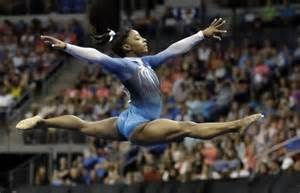 Level 3 Gymnastics Floor Routine Australia 2016 by U S Gymnast Biles Snags 4th Consecutive National