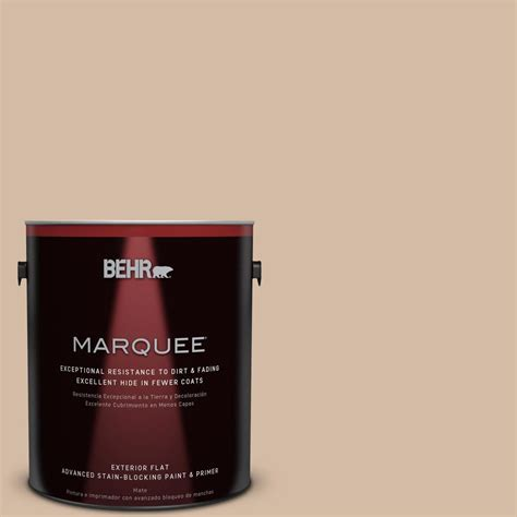 behr marquee 1 gal 290e 3 classic taupe flat exterior