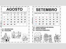 Dani Educar Calendário 2016 com datas comemorativas