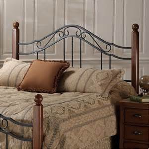 hillsdale madison metal headboard reviews wayfair