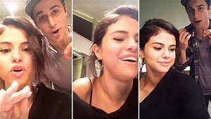 Selena Gomez Hanging Out With David Henrie On Snapchat ...