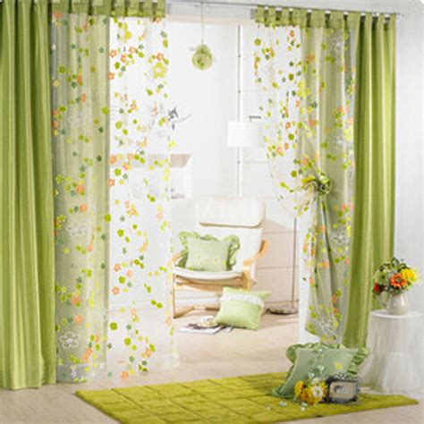 floral print drapes colorful flower print window curtain voile solid sheer