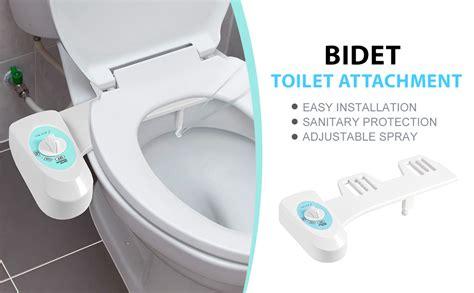 Toilet Bowl With Bidet bidet toilet attachment fresh water spray non electric
