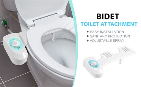 Bidet Toilet Attachment, Fresh Water Spray Nonelectric