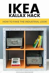 Ikea Box Kallax : ikea kallax hack industrial storage for a boys bedroom grillo designs ~ Orissabook.com Haus und Dekorationen