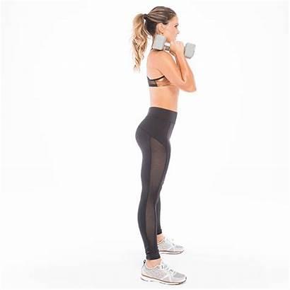 Squat Deep Butt Dumbbells Tight Dumbbell Workout