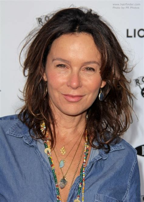 jennifer grey  clothing   hairstyle