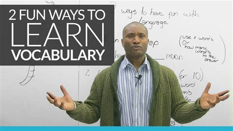 2 Fun New Ways To Learn English Vocabulary · Engvid