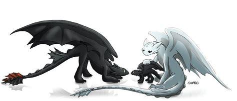 Female Night Fury Like Darkrai By Blackdragon