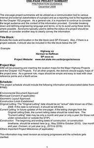 Business Development Agreement Template Download One Page Project Summary Template For Free Page