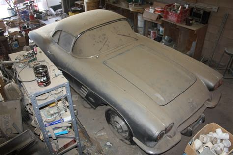 Epic Barn Find: 1961 Corvette, Parked Since 1968