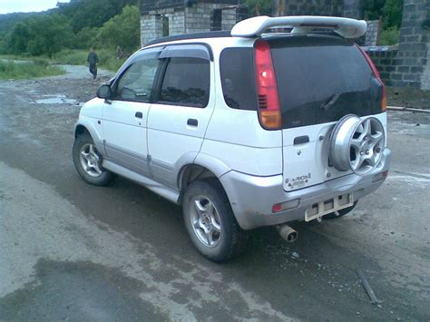 Daihatsu Terios Photo by 2000 Daihatsu Terios Photos 1 3 Gasoline Manual For Sale