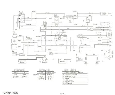 wiring diagram 2135 cub 24h schemes