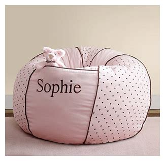 gift giving personalized bean bag chair