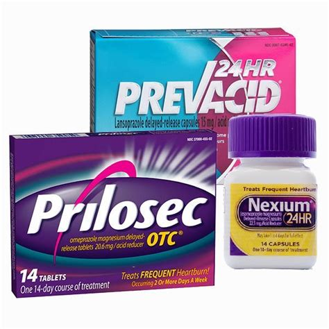 nexium prilosec  prevacid linked   side