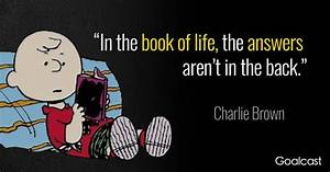 12 Charlie Brow... Life Story Book Quotes