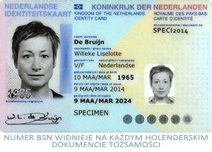 nip  holandii czyli numer bsn zwany sofi