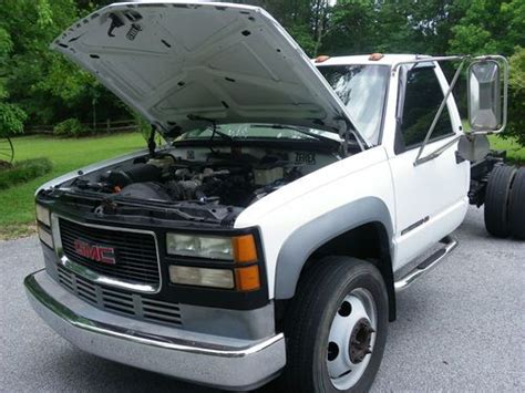 all car manuals free 1997 gmc 3500 electronic toll collection buy used 1997 gmc 1 ton truck sierra 3500hd truck cab chassis ready to install your bed in