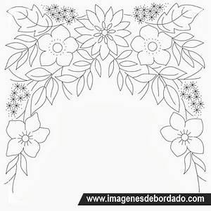 Plantillas Para Bordar Flores Www Imagenesmy