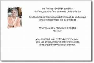 Lettre Deces : modele lettre de remerciement pour un deces ~ Gottalentnigeria.com Avis de Voitures