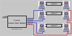 How To Replace 3 Lamp Parallel Ballasts