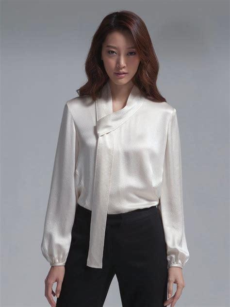 pin  robert schweizer  satin blouse   satin
