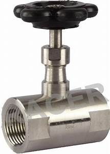 Racer Screwed End Needle Valve  Size  8 To 50mm  Rs 250   Piece