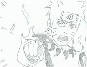 Naruto Kyuubi Chakra Mode. by Rjeezay on DeviantArt