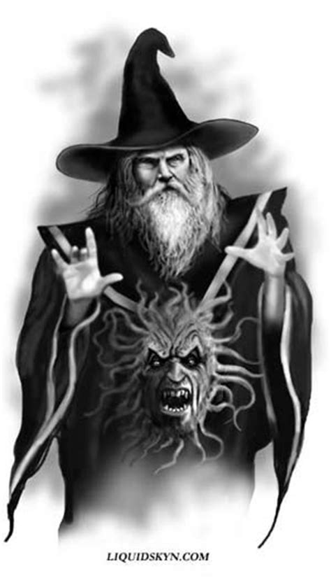 Free Wizard | FREE WIZARD TATTOO DESIGNS - Free Tattoo Designs | Wizards | Pinterest | Wizard