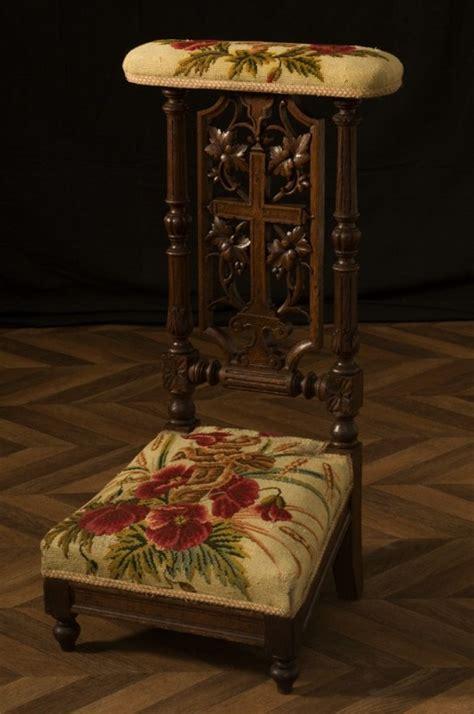 chaise prie dieu chaise ancienne prie dieu ancien début xxeme siècle