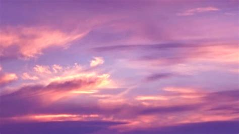 Pink Clouds Stock Footage Video (100% Royalty free
